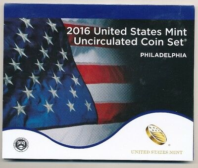 2016-P Philadelphia United States Uncirculated Coin Set