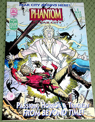 Phantom Of Fear City #1 - Claypool  - Modern Horror