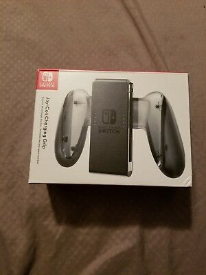 Nintendo Switch Joy-Con Charging Grip - Brand New, Factory Sealed