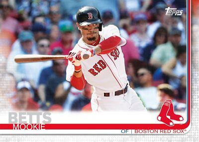 2019 TOPPS BASEBALL SERIES 1 ONE YOU PICK CARDS A-J Base Cards