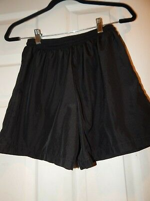 A4 Basketball Shorts Black Unlined Youth Large, NICE!