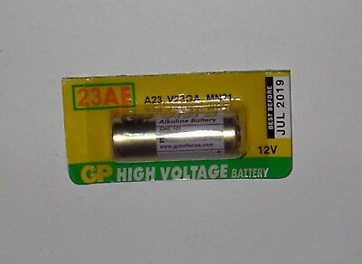 Car Alarm remote control 12V Alkaline battery GP 23AE, LRV08 L1028, 23A, MN21