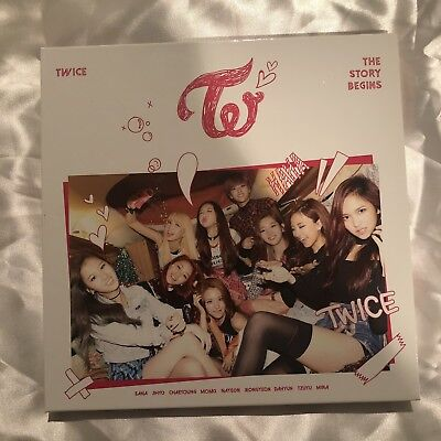 twice the story begins album no photocard