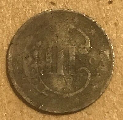 1851-O 3 Cent Silver Key Date CULL