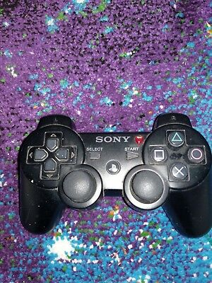 Official Genuine OEM Sony Playstation 3 PS3 Wireless Sixaxis Controller Tested
