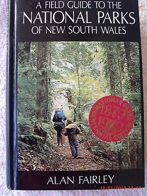 A Guide To The National Parks Of Nsw, Book By Alan Fairley, 1978, V/good Cond.
