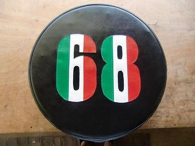 Italian Stripe Any Number Scooter Wheel Cover