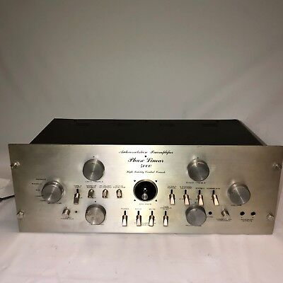 Phase Linear 4000 Preamplifier Pre Amp