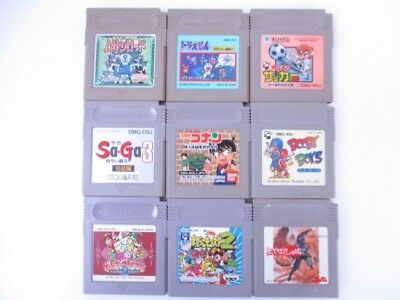 Nintendo GB Game Boy Soft Tested Lot of 9 Game set Japan Import JP