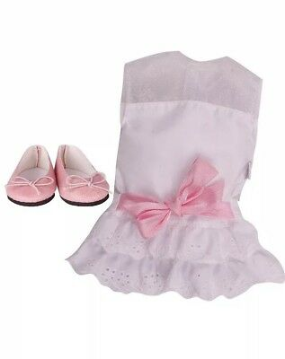 Chad Valley DesignaFriend White Lace Dress Outfit Doll Not Included