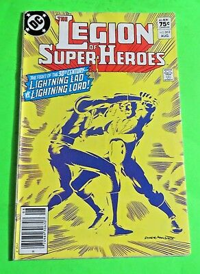 The Legion of Super-Heroes #302 DC Comics Bronze Age (1983) C4032