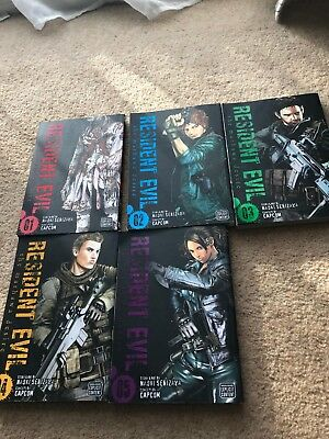 Resident Evil, Complete Set The Marhawa Desire by Naoki Serizawa (Paperback)