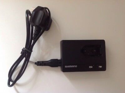 Shimano Di2 SM-BCR1 Battery Charger with Power Cord (SM-BCC1-3)
