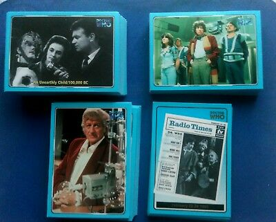 Dr Who Definitive Collection Series 1 Card Set And Radio Times Set