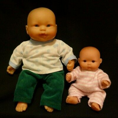 Pair of small Berenguer Dolls