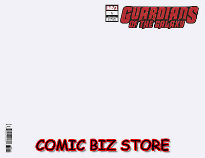 Guardians Of The Galaxy #1 (2019) 1St Printing Blank Variant Cover ($4.99)