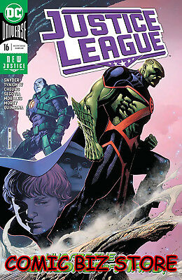 Justice League #16 (2019) 1St Printing Jim Cheung Main Cover Dc Universe