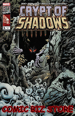 Crypt Of Shadows #1 (2019) 1St Printing Kyle Hotz Main Cover Marvel Comics