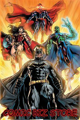 Justice League #16 (2019) 1St Printing Will Conrad Variant Cover Dc Universe