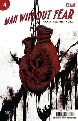 Man Without Fear #4 (Of 5) (2019) 1St Printing Kyle Hotz Main Cover Marvel