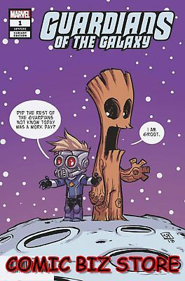 Guardians Of The Galaxy #1 (2019) 1St Printing Skottie Young Variant Cvr ($4.99)