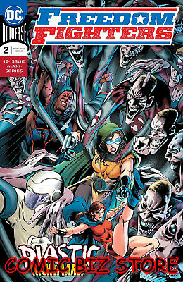 Freedom Fighters #2 (Of 12) (2019) 1St Printing Bagged & Boarded Dc Universe