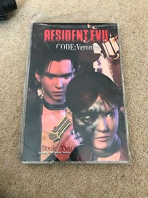 resident evil code veronica Book Two