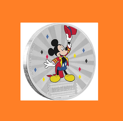 Mickey Mouse & Friends Carnival - 2019 Mickey Mouse 1oz Silver Coin