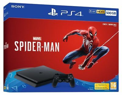 PS4 500GB Marvel's Spider-Man Console NEW & SEALED