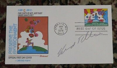 Edward Teller Signed First Day Cover - 1974