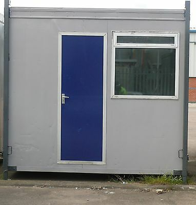 9ft 5 x 9ft 10 open plan refurbished portable office cabin for sale