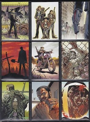 The Walking Dead Comics - For Sale Is A Cryptozoic 2013 2Nd Ser Trade Card Set