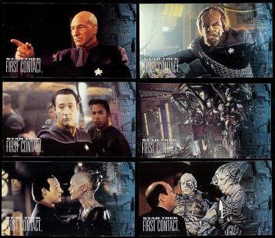 Star Trek First Contact - A Complete Skybox 1996 Wide Vision Set