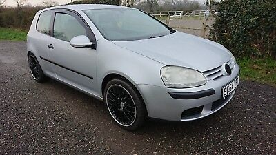 2005 VOLKSWAGEN GOLF 1.6 SE FSI 3dr SPARES OR REPAIRS