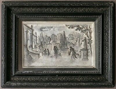 Plaster Relief Plaque Wall Sculpture 18th 19th Century