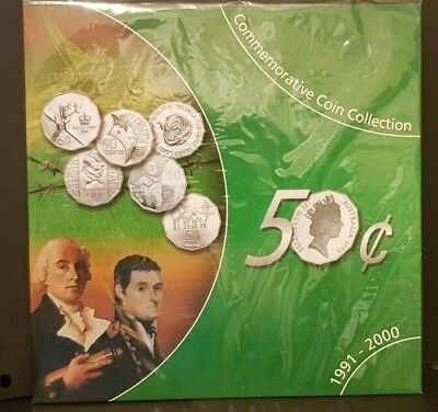 Au - 1991-2000 - Commemorative Fifty Cent Coin Collection