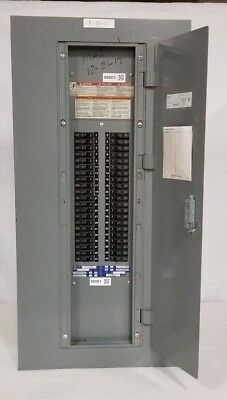 square d nqod panel 225 amps 3 phase w breakers 208y 120 volts 42