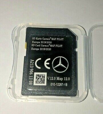 NEW V12 2020 Mercedes Garmin Map Pilot Audio 20 V12  C,V,E, GLK GLC CLASS MAPS