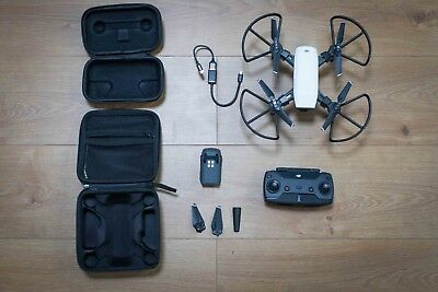 DJI Spark + remote + extra battery + guards
