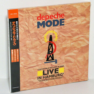 DEPECHE MODE The World We Live In Hamburg Germany 1984 CD+DVD Digipak Japan OBI