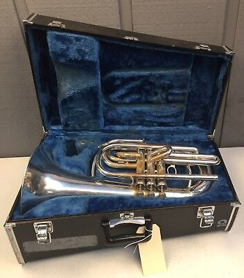 Yamaha Ybh301M Marching Baritone In Good Playing Condition 001534