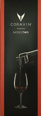 Coravin Model Two Wine Pouring System IN BLACK