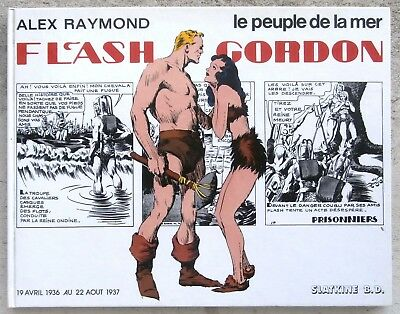 Flash Gordon Le peuple de la Mer Superbes planches couleurs EO 1980 Alex Raymond