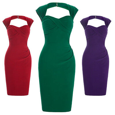 Fashion Summer Women Back Hollow Out Dress Package Hip Bodycon Pencil Dresses