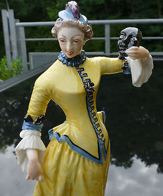 "Nymphenburg Porzellan Figur "" Colombine "" Bustelli - Commedia dell àrte !!!"