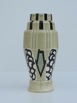 Orchies French Art Deco  Keramik Vase Frankreich