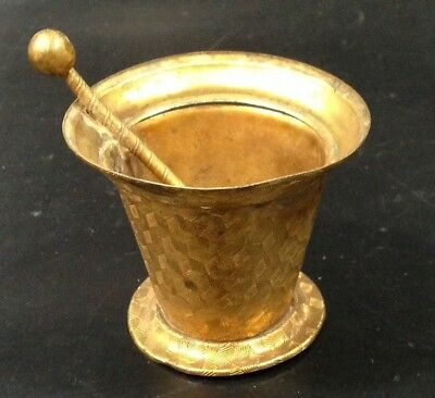 Apothecary Druggist Mortar Pestle Salesman Sample Display Miniature Antique