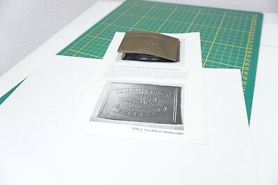 Tiffany & Co London The Wells Fargo and Company 1877 Express Train Buckle 134a