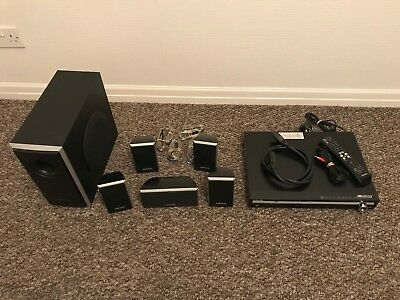Samsung DVD Home Cinema System HT-Q20 + scart + audio cables