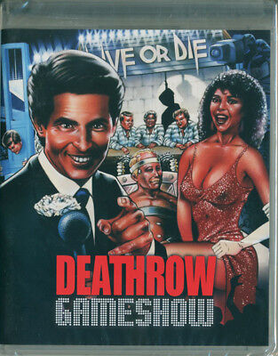 Deathrow Gameshow (1988) Blu-ray/DVD - Brand New! Ships First Class w/ Tracking